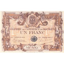 Bourges - Pirot 32-2 - Série A - 1 franc - 1915 - Etat : SUP+