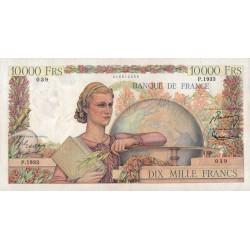 F 50-53 - 16/08/1951 - 10000 francs - Génie Français - Etat : TTB