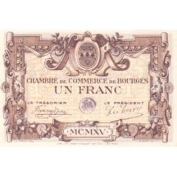 Bourges - Pirot 32-2-A - 1 franc - 1915 - Etat : SUP+