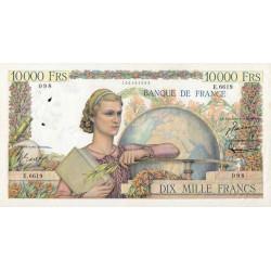 F 50-70 - 04/03/1954 - 10000 francs - Génie Français - Etat : TTB-
