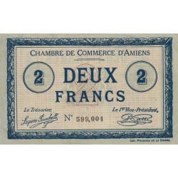 Amiens - Pirot 7-38 - 2 francs - 1915 - Etat : TTB+
