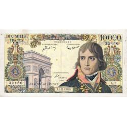 F 51-01 - 01/12/1955 - 10000 francs - Bonaparte - Etat : TB+
