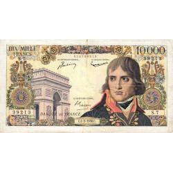 F 51-02 - 01/03/1956 - 10000 francs - Bonaparte - Etat : TB+