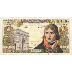 F 51-04 - 06/09/1956 - 10000 francs - Bonaparte - Etat : TB