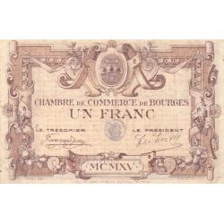 Bourges - Pirot 32-4 - Série B - 1 franc - 1915 - Etat : TB+