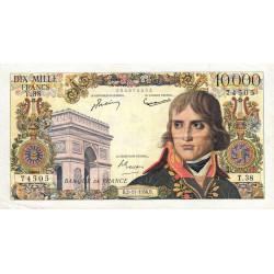 F 51-5 - 02/11/1956 - 10000 francs - Bonaparte - Etat : SUP-