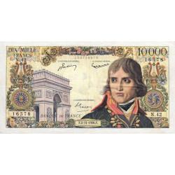 F 51-05 - 02/11/1956 - 10000 francs - Bonaparte - Etat : TTB à TTB+