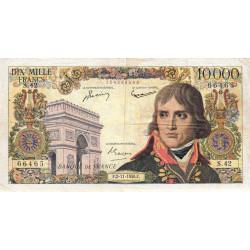 F 51-5 - 02/11/1956 - 10000 francs - Bonaparte - Etat : TB