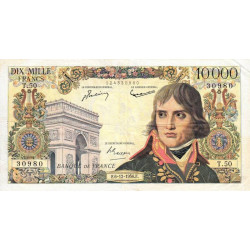 F 51-06 - 06/12/1956 - 10000 francs - Bonaparte - Etat : TTB