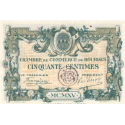 Bourges - Pirot 32-5 - Série A - 50 centimes - 1915 - Etat : SUP+