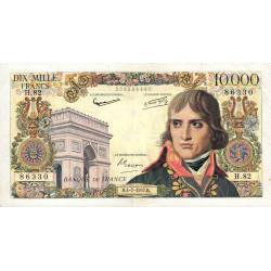 F 51-9 - 04/07/1957 - 10000 francs - Bonaparte - Etat : TTB