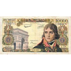 F 51-13 - 02/10/1958 - 10000 francs - Bonaparte - Etat : TB