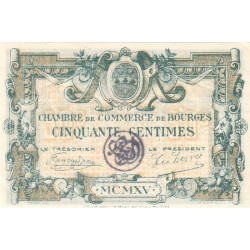 Bourges - Pirot 32-5-A - 50 centimes - Etat : SUP+