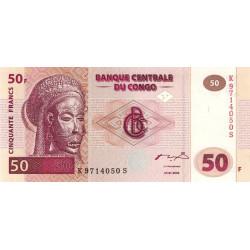 Rép. Démocr. du Congo - Pick 91A - 50 francs - 04/01/2000 - Etat : NEUF