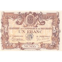 Bourges - Pirot 32-6 - Série A - 1 franc - 1915 - Etat : SUP+