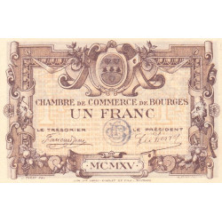 Bourges - Pirot 32-6-A - 1 franc - Etat : TTB