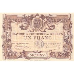 Bourges - Pirot 32-6 - Série A - 1 franc - 1915 - Etat : TTB