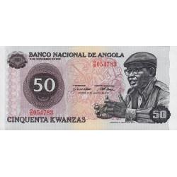 Angola - Pick 114 - 50 kwanzas - Série O/B - 14/08/1979 - Etat : NEUF