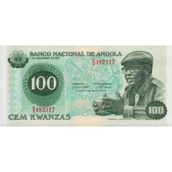 Angola - Pick 115 - 100 kwanzas - 14/08/1979 - Etat : NEUF