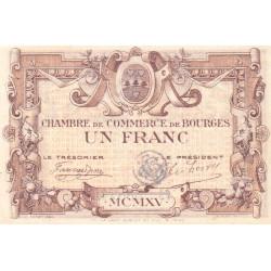 Bourges - Pirot 32-7 - Série B - 1 franc - 1915 - Etat : TTB+