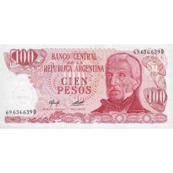 Argentine - Pick 302b - 100 pesos - Série D - 1976 - Etat : NEUF