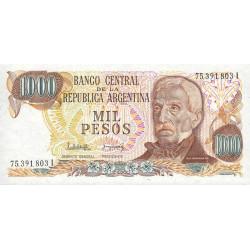 Argentine - Pick 304d_2 - 1'000 pesos - Série I - 1983 - Etat : NEUF