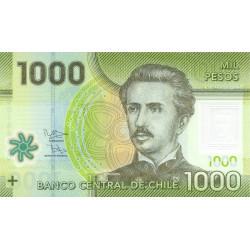 Chili - Pick 161c - 1'000 pesos - Polymère - 2012 - Etat : NEUF