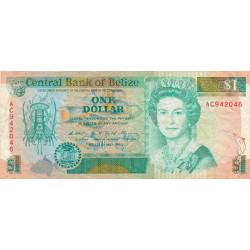 Belize - Pick 51 - 1 dollar - 1990 - Etat : TB+