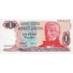Argentine - Pick 311_2 - 1 peso argentino - Série B - 1983 - Etat : NEUF