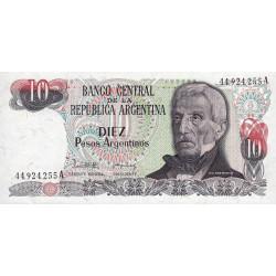 Argentine - Pick 313_1 - 10 pesos argentinos - Série A - 1983 - Etat : SPL