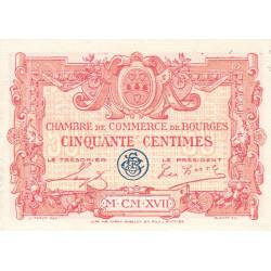 Bourges - Pirot 32-8-D - 50 centimes - 1917 - Etat : SPL