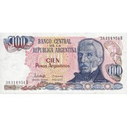 Argentine - Pick 315_1 - 100 pesos argentinos - Série B - 1983 - Etat : NEUF