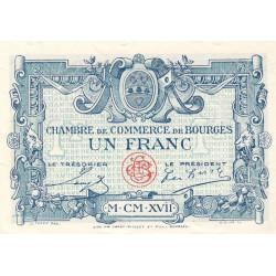 Bourges - Pirot 32-9-D - 1 franc - 1917 - Etat : NEUF