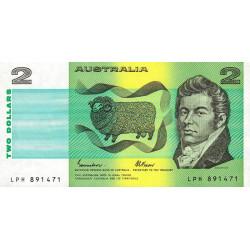 Australie - Pick 43e - 2 dollars - 1985 - Etat : NEUF