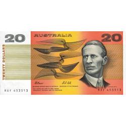 Australie - Pick 46h - 20 dollars - 1991 - Etat : NEUF