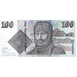 Australie - Pick 48d - 100 dollars - 1992 - Etat : pr.NEUF
