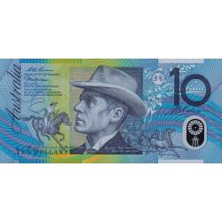 Australie - Pick 52b - 10 dollars - 1998 - Polymère - Etat : NEUF