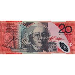 Australie - Pick 59a - 20 dollars - 2002 - Polymère - Etat : NEUF