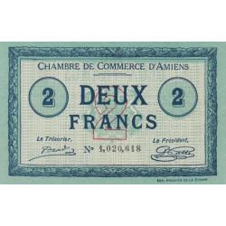 Amiens - Pirot 7-46a - 2 francs - 1915 - Etat : SPL
