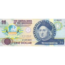 Bahamas - Pick 50 - 1 dollar - Loi 1974 (1992) - Commémoratif - Etat : NEUF