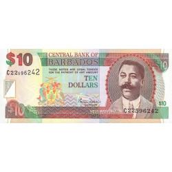 Barbade - Pick 62 - 10 dollars - 2000 - Etat : NEUF