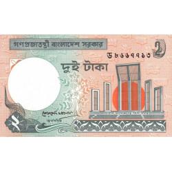 Bangladesh - Pick 6Ca3 - 2 taka - 1991 - Etat : NEUF