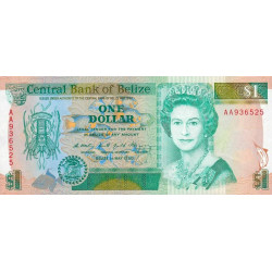 Belize - Pick 51 - 1 dollar - 01/05/1990 - Etat : NEUF