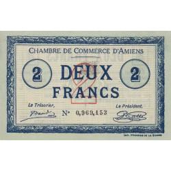 Amiens - Pirot 7-46 variété - 2 francs - 1915 - Etat : SPL