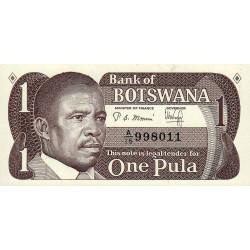 Botswana - Pick 6 - 1 pula - Série A/15 - 1983 - Etat : NEUF