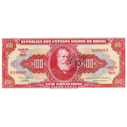 Brésil - Pick 185a - 10 centavos - 1966 - Etat : NEUF