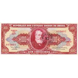 Brésil - Pick 185a - 10 centavos - 1966 - Etat : TTB+