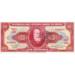 Brésil - Pick 185b - 10 centavos - 1967 - Etat : NEUF