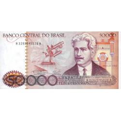 Brésil - Pick 204d - 50'000 cruzeiros - 1986 - Etat : NEUF