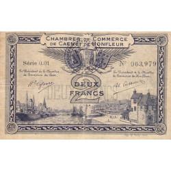 Caen / Honfleur - Pirot 34-10 - 2 francs - Série 001 - 1915 - Etat : TB+